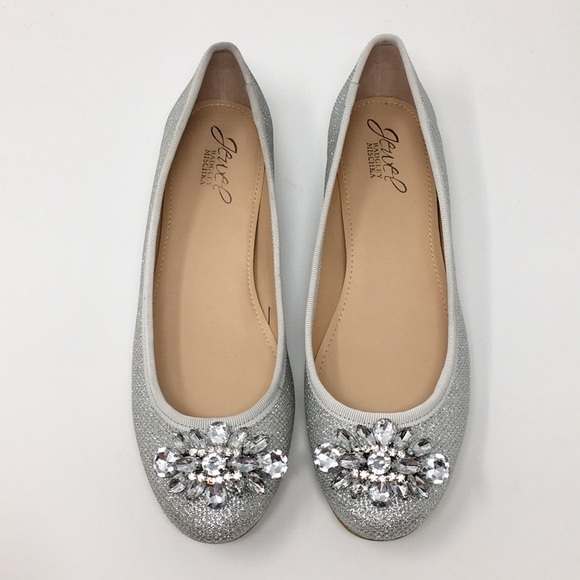 8c1c0fe67 Badgley Mischka Shoes | Cabella Evening Flats | Poshmark